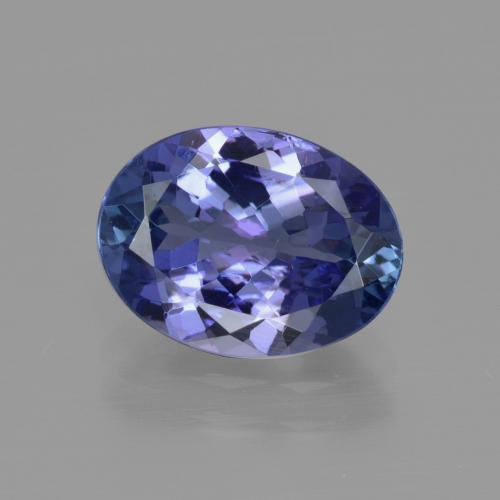 3.1ct Violet Blue Tanzanite Gem from Tanzania