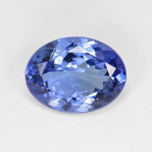Buy 3.96 ct Violet Blue Tanzanite 11.72 mm x 8.8 mm from GemSelect (Product ID: 412113)