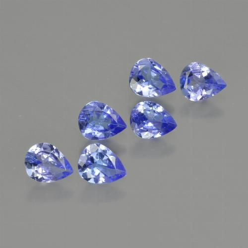 0.3ct Pear Facet Intense Blue Tanzanite Gem (ID: 412989)