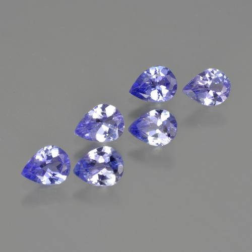 0.3ct Pear Facet Deep Blue Tanzanite Gem (ID: 413211)