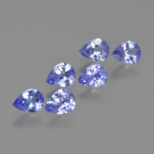 0.3ct Pear Facet Deep Blue Tanzanite Gem (ID: 413216)