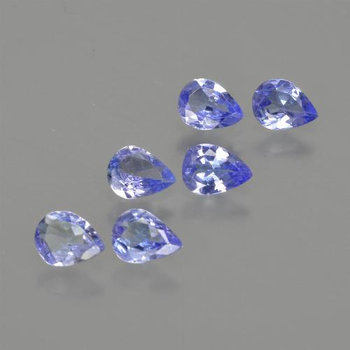 0.2ct Pear Facet Deep Blue Tanzanite Gem (ID: 413217)