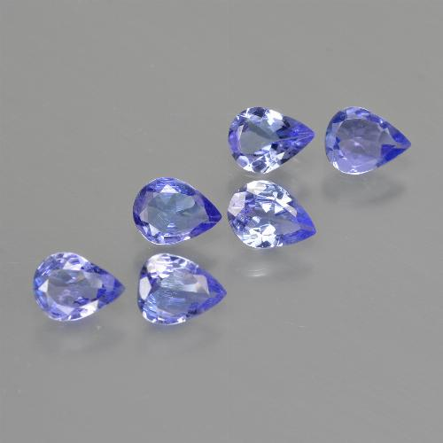 0.3ct Pear Facet Intense Blue Tanzanite Gem (ID: 413365)