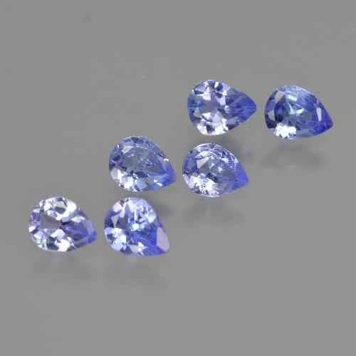 0.3ct Pear Facet Medium Blue Tanzanite Gem (ID: 413366)
