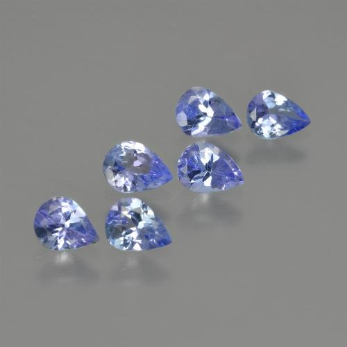 0.3ct Pear Facet Deep Blue Tanzanite Gem (ID: 413375)
