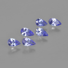 thumb image of 0.2ct Pear Facet Violet Blue Tanzanite (ID: 413491)