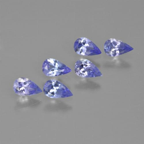 0.2ct Pear Facet Violet Blue Tanzanite Gem (ID: 413492)