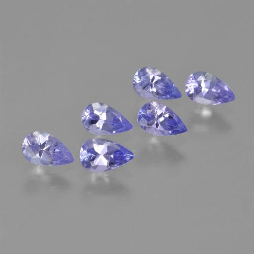 0.3ct Pear Facet Violet Blue Tanzanite Gem (ID: 413631)