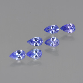 thumb image of 0.2ct Pear Facet Violet Blue Tanzanite (ID: 413801)