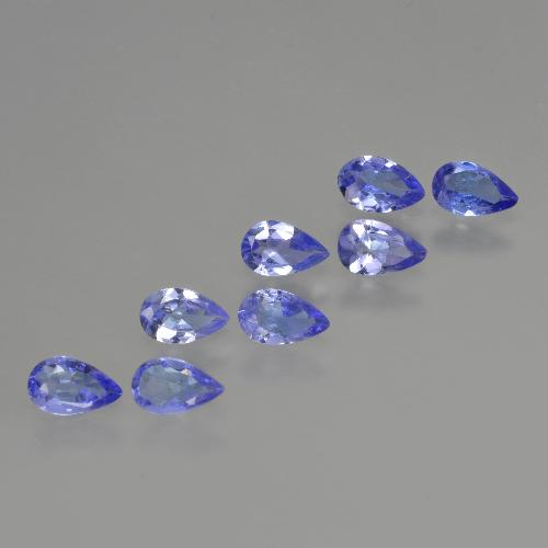 thumb image of 0.2ct Pear Facet Violet Blue Tanzanite (ID: 413889)