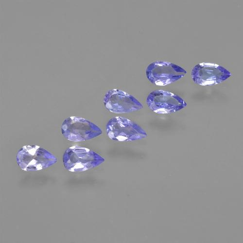 thumb image of 0.2ct Pear Facet Violet Blue Tanzanite (ID: 413929)