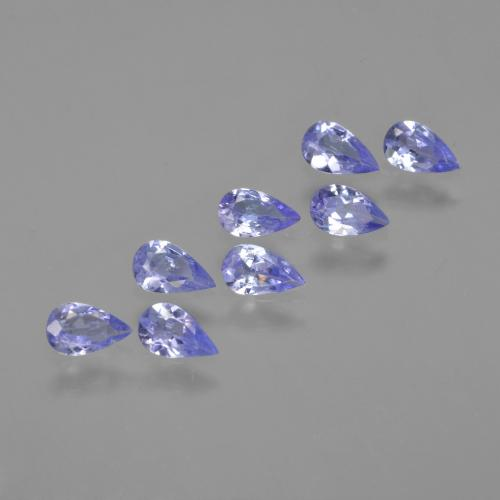 thumb image of 0.2ct Pear Facet Violet Blue Tanzanite (ID: 413930)