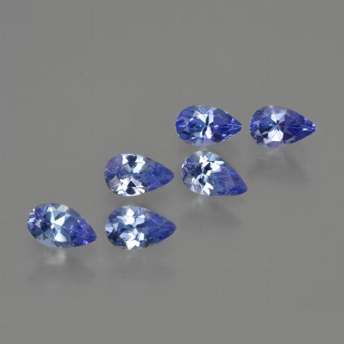 0.3ct Pear Facet Deep Blue Tanzanite Gem (ID: 414546)