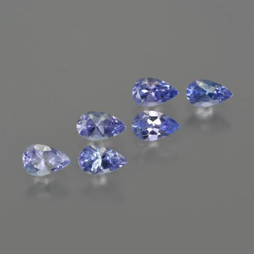 0.3ct Pear Facet Deep Blue Tanzanite Gem (ID: 414547)