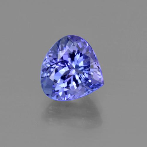 2.3ct Pear Facet Deep Purple Blue Tanzanite Gem (ID: 415419)
