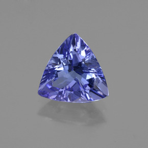 1.3ct Trillion Facet Violet Blue Tanzanite Gem (ID: 421251)