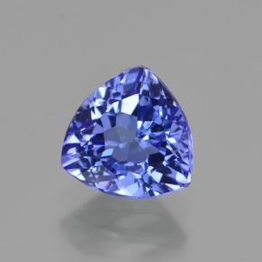 1.3ct Violet Blue Tanzanite Gem from Tanzania