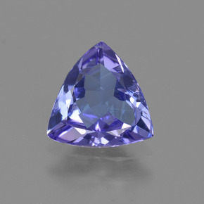 1ct Trillion Facet Intense Violet Blue Tanzanite Gem (ID: 421422)