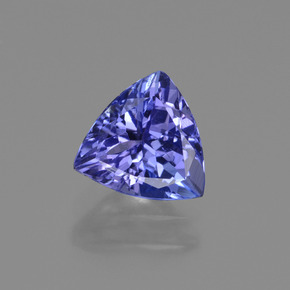 1.3ct Trillion Facet Violet Blue Tanzanite Gem (ID: 421579)