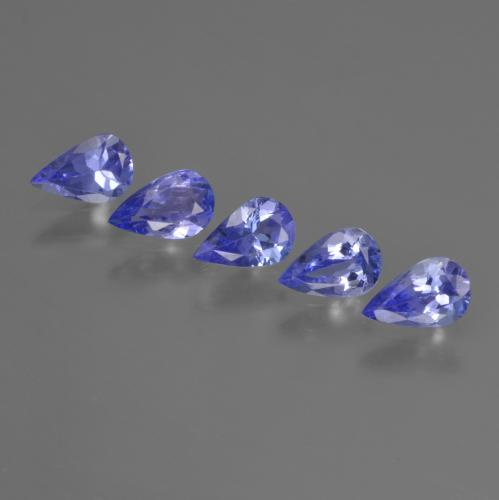 0.3ct Pear Facet Deep Blue Tanzanite Gem (ID: 421940)