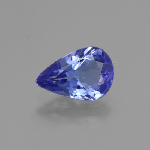 1.4ct Pear Facet Blue Tanzanite Gem (ID: 424070)