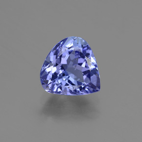 1.7ct Pear Facet Violet Blue Tanzanite Gem (ID: 424092)