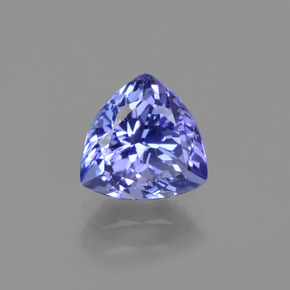 1.4ct Trillion Facet Violet Blue Tanzanite Gem (ID: 424202)