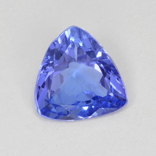 1.1ct Trillion Facet Violet Blue Tanzanite Gem (ID: 424203)