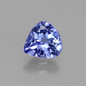 1.1ct Pear Facet Medium Navy Blue Tanzanite Gem (ID: 424718)