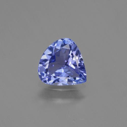 1ct Pear Facet Intense Violet Blue Tanzanite Gem (ID: 424762)