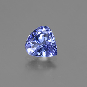 1ct Pear Facet Intense Violet Blue Tanzanite Gem (ID: 424764)