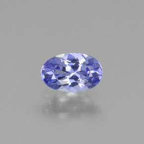 Buy 0.53 ct Violet Blue Tanzanite 6.18 mm x 4 mm from GemSelect (Product ID: 438195)