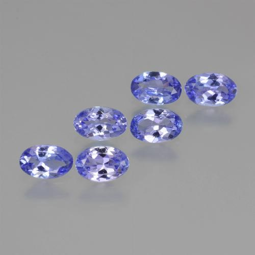 0.4ct Oval Facet Intense Violet Blue Tanzanite Gem (ID: 445909)