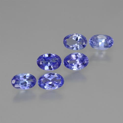 0.4ct Oval Facet Intense Violet Blue Tanzanite Gem (ID: 445917)
