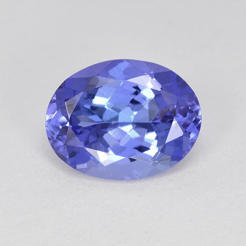 2.1ct Oval Facet Intense Violet Blue Tanzanite Gem (ID: 451433)