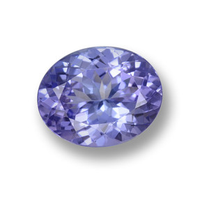 Intense Violet Blue Tanzanite Gem - 2.3ct Ovale sfaccettato (ID: 461361)