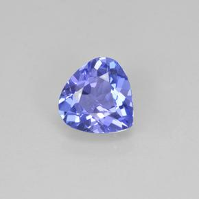 Violet Blue Tanzanite Gem - 0.9ct Pear Facet (ID: 503871)