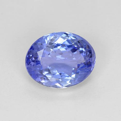 2.7ct Oval Facet Violet Blue Tanzanite Gem (ID: 508363)
