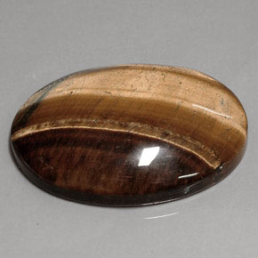 tiger s eye 75 5ct oval from thailand and