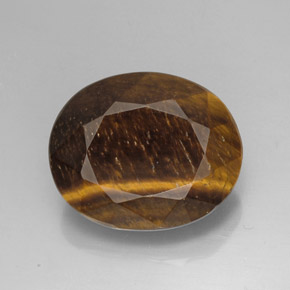 Buy 25.78 ct Gold Brown Tiger's Eye 21.40 mm x 17.5 mm from GemSelect (Product ID: 271171)