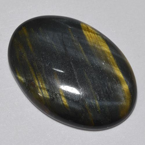 Multicolor Tiger's Eye Gem - 9.4ct Oval Cabochon (ID: 513688)