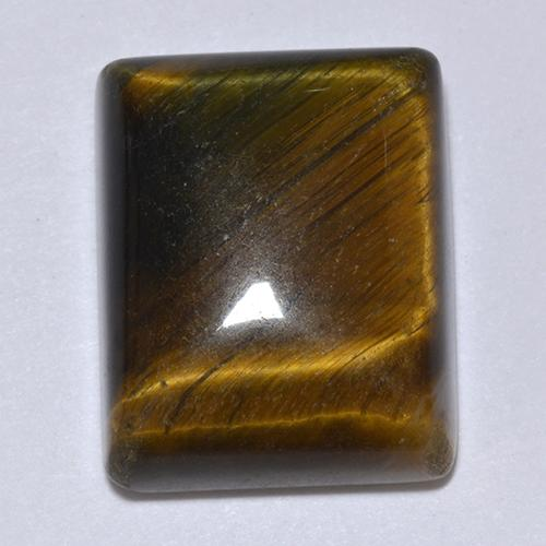 Multicolor Tiger's Eye Gem - 18ct Baguette Cabochon (ID: 513700)