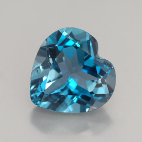 4.01 ct Natural London Blue Topaz