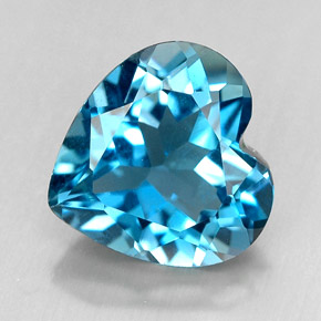 Buy 4.14 ct London Blue Topaz 10.03 mm x 9.9 mm from GemSelect (Product ID: 246885)