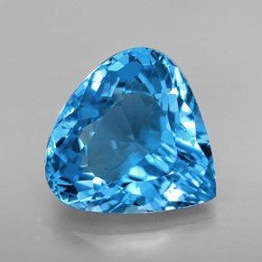 Buy 7.50 ct Swiss Blue Topaz 12.71 mm x 12.7 mm from GemSelect (Product ID: 251955)