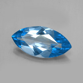 Buy 6.35 ct Swiss Blue Topaz 18.01 mm x 9.1 mm from GemSelect (Product ID: 255659)