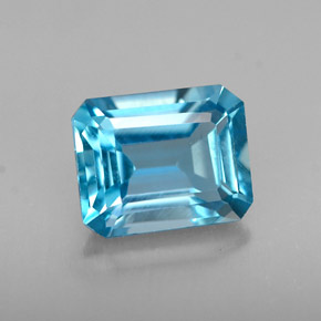 Buy 1.69 ct London Blue Topaz 7.52 mm x 6 mm from GemSelect (Product ID: 264004)