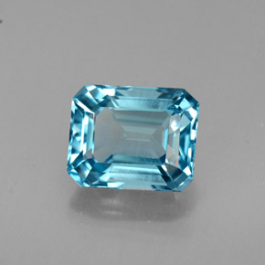 Buy 2.01 ct London Blue Topaz 7.44 mm x 6 mm from GemSelect (Product ID: 264599)