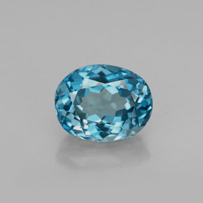 Buy 2.09 ct London Blue Topaz 8.23 mm x 6.5 mm from GemSelect (Product ID: 266907)