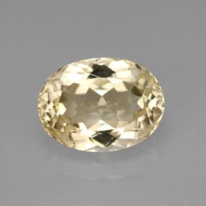 6 5 carat oval 12 2x9 1mm and untreated topaz gemstone